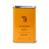 Extra Virgin Olive Oil ALHEMA DE QUEILES 500 ml. can picture