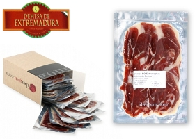 100 gr Pack of DO Dehesa de Extremadura Iberico Bellota Jamon Ham