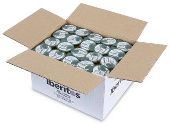 100 single serve portions box of Iberitos olive oil
