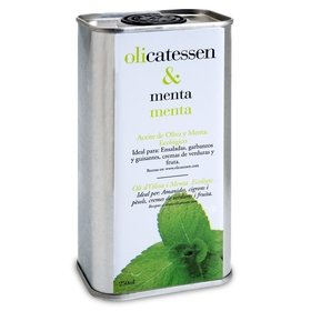 Organic Olive Oil with Mint Olicatessen 250 ml
