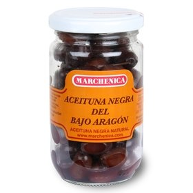 Black Olives from Bajo Aragón Marchenica 200 gr