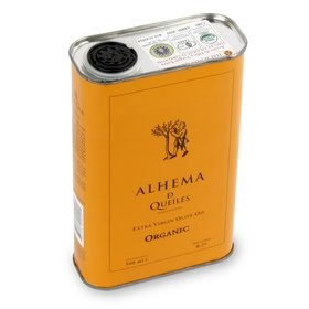 Organic Extra Virgin Olive Oil Alhema de Queiles 500 ml
