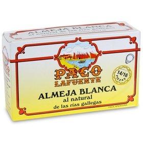 White clams from Galicia's Rias Paco Lafuente 14/16 u. 115 gr