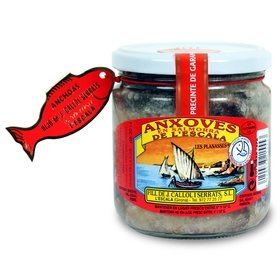 Salted Anchovies from l'Escala Callol Serrats 500 gr - 12/14 u.