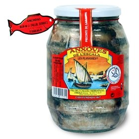 Salted Anchovies from l'Escala Callol Serrats 1450 gr - 35/40 u.