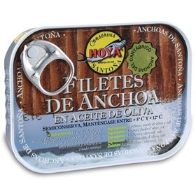 Cantabrian Anchovy Fillets in Olive Oil Hoya 78 gr