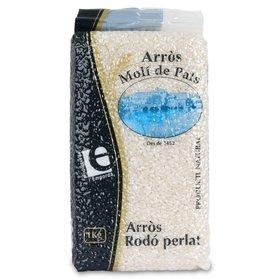 Round Pearl Rice Molí de Pals 1 Kg