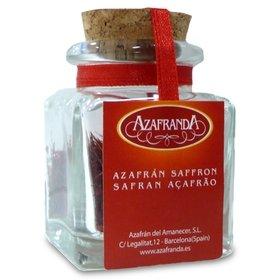 Pure All Red Saffron threads Azafranda, 1-Gram Jar (Sargol)