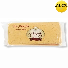 Vicens handcrafted soft Turron 300 gr