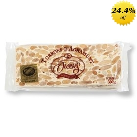 Vicens handcrafted crunchy Turron 300 gr
