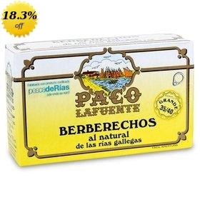 Cockles Paco Lafuente from Galicia's Rías 35/40 (Berberechos) 115 gr