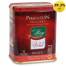 Spanish Sweet Smoked Paprika de la Vera El Rey 75 gr