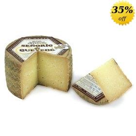 Señorío de Quevedo Manchego Sheep Milk Cheese