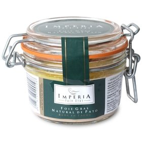 Block of Duck Foie gras with liver pieces Imperia 130 gr