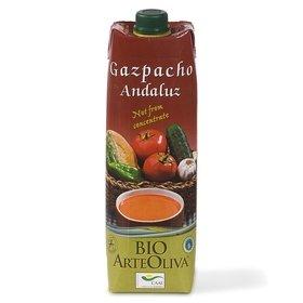 Organic Andalusian Gazpacho ArteOliva 1 l.