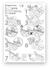 How to slice a ham or shoulder (PDF 2.1 MB)