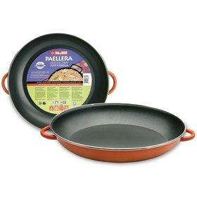 Orange Ibili Paella Pan 38 cm (15 in), 8 portions