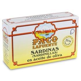Sardines in olive oil Paco Lafuente 12/14 u. 125 gr (sardinillas)