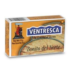 Albacore Tuna Fillets in Olive Oil Condor (Bonito) 112 gr