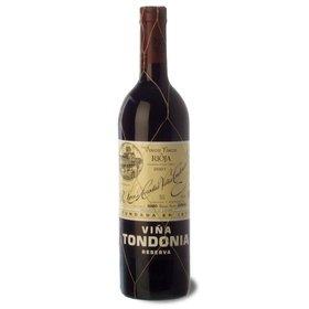 Rioja Red Reserva wine Viña Tondonia 2002